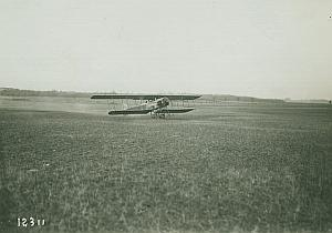 Schmitt Biplane & Passengers Aviation Photo 1914