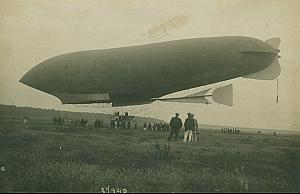Dirigeable Republique Lebaudy Aeronautics Photo 1908