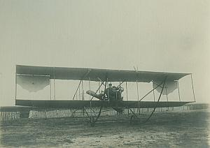 Sommer biplane Aviation old Photos 1910