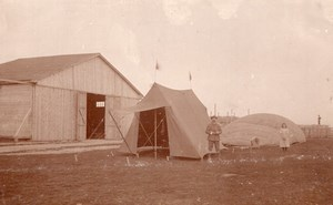 Russia Moscow Airfield Gas Balloon Inflating Aviation 5 old Photos 1912