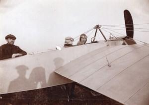 Moscow Henri Pequet Morane Saulnier Photographer Shadow Aviation Old Photo 1914