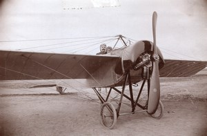 Russia Moscow Henri Pequet Dux built Morane Saulnier Aviation old Photo 1914