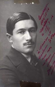 Russie Moscou WWI Aviation Aviateur Louis Boyer Autograph Ancienne Photo 1916