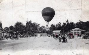 Aviation Ballons Lot de Cartes postales envoyes a l'Aeronaute Charles Gilbert vers 1910