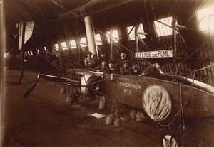 France Aeronautisme Hangar a Dirigeable Astra Transaerien no 7 Ancienne Photo 1909