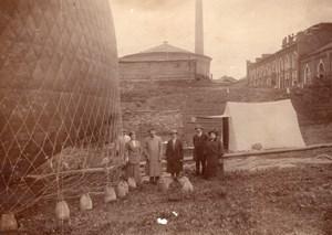 Russie Moscow Vladimir Vologda Aeronautisme Vol en Ballon  Lot de Photos Anciennes 1914
