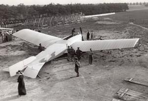 France Mourmelon Antoinette Monobloc Latham Aviation Militaire Ancienne Photo Rol 1911