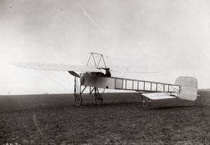 France Buc Monoplan Bleriot Gouin Vision Totale Aviation Ancienne Photo Rol 1914