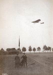 Etampes Aviation Coupe Femina Jane Herveux sur Bleriot Ancienne Photo Meurisse 1911