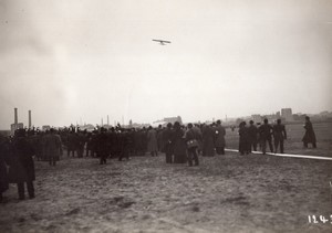 Issy? Aviation Course Paris Madrid Garros sur Bleriot Ancienne Photo Meurisse 1911