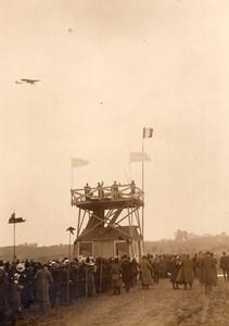 Angouleme Aviation Course Paris Madrid Garros sur Bleriot Ancienne Photo Rol 1911