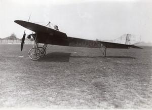 Chalons Aviation Monoplan Copin Revillard Ancienne Photo Rol 1912