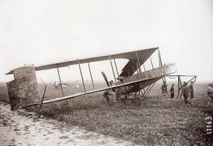 Pionniers de l'Aviation Biplan Dunne en France? Ancienne Photo Rol vers 1910