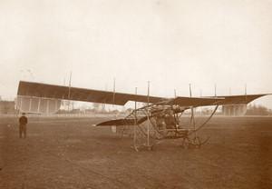 Juvisy Avion Monoplan Gassier Sylphe Aviation Ancienne Photo Rol 1911