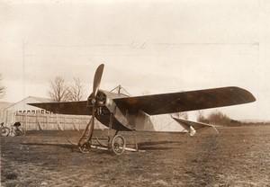 France Aviation Militaire Monoplan Hanriot Gnome Ancienne Photo Branger 1912