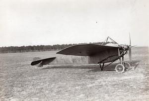 Mourmelon Aviation Nieuport bat les records de vitesse Ancienne Photo Meurisse 1911