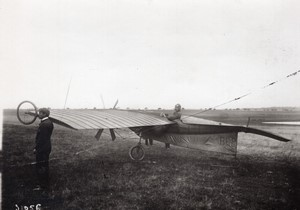 Buc Aviation Esnault-Pelterie in his REP1 Monoplane old Branger Photo 1907