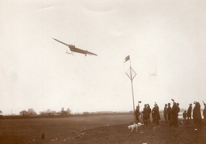Buc Aviation Coupe Michelin Pierre Marie sur Monoplan REP Ancienne Photo Meurisse 1910