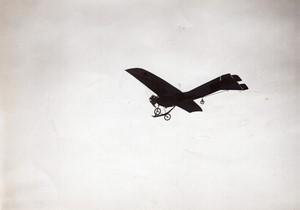 Buc Aviation Coupe Deperdussin Laurens sur REP Ancienne Photo Branger 1910
