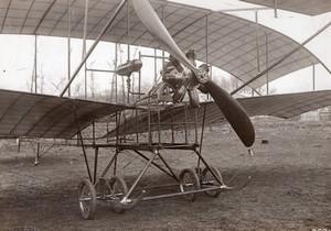France Aviation Biplan Bicurve Sloan Ancienne Photo Meurisse 1910