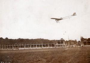 Port Aviation Meeting de Paris Dubonnet sur Monoplan Tellier Ancienne Photo Branger 1910