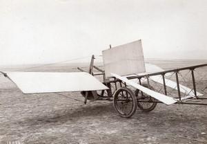 France Aviation Canard Voisin Biplan sans queue Detail avant Ancienne Photo Meurisse 1911