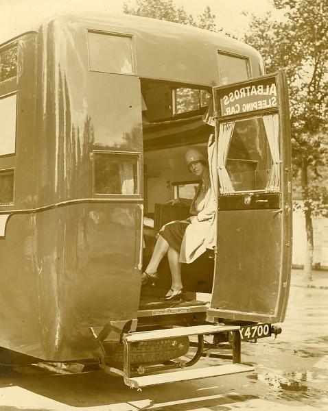 Sleeping Motor Coach Service Albatross Old Photo 1920 39 S Ebay